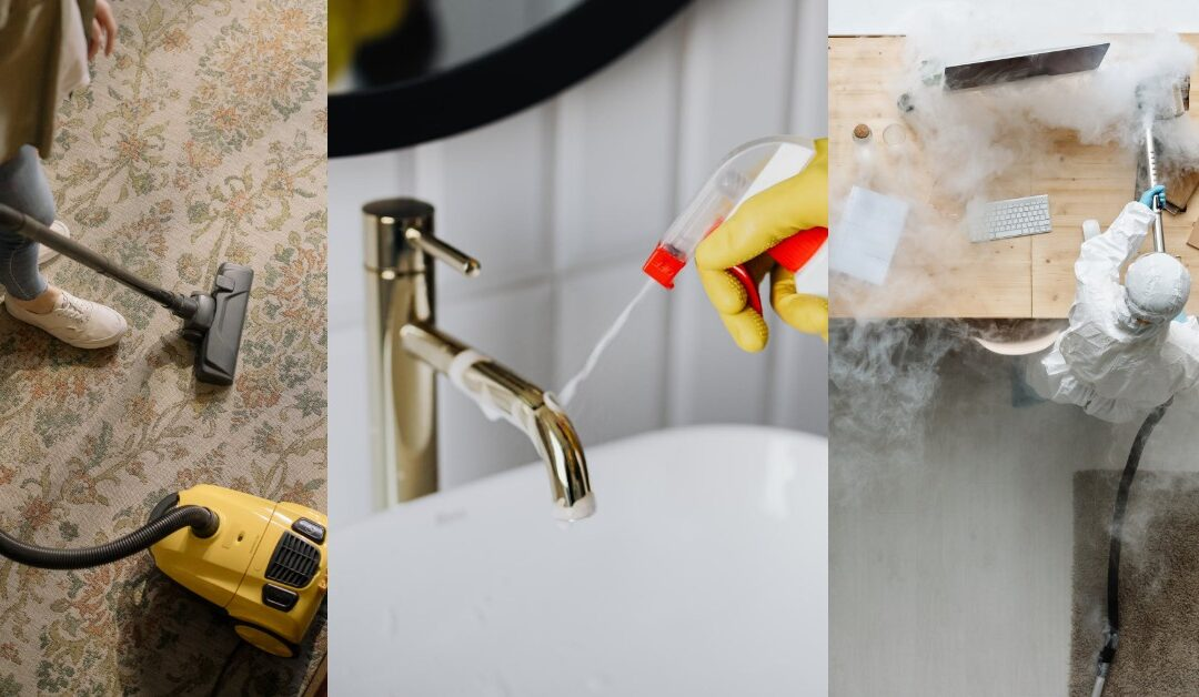What Is The Difference Between Cleaning, Disinfecting and Sanitizing?